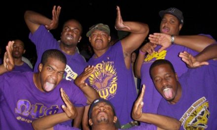Members Of The Black Fraternity OMEGA PSI PHI Showed Off Their STRENGTH . . . By Slapping The CRAP Out Of Each Other . . . But One Frat Bro Got Accidentally KO'D!!