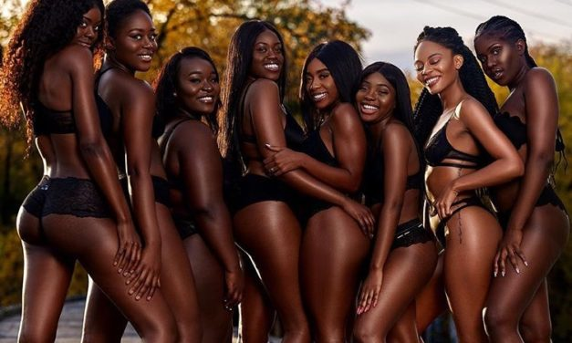 Diverse photo shoot sends powerful message: 'Never be sorry for being black'